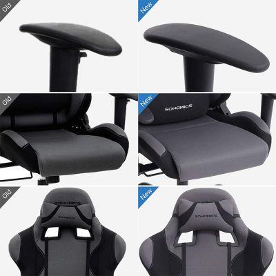 Gamingstuhl schwarz / grau