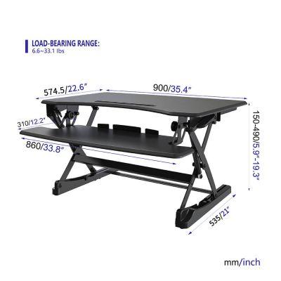 Eigenschaften des höhenverstellbaren Schreibtisches
