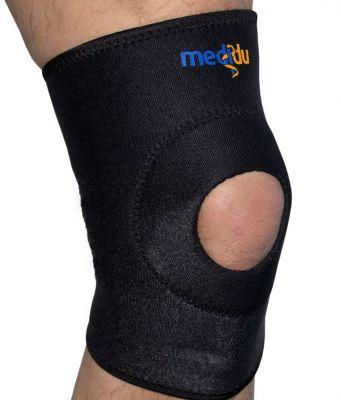Kniebandage ohne Federstahlstreben