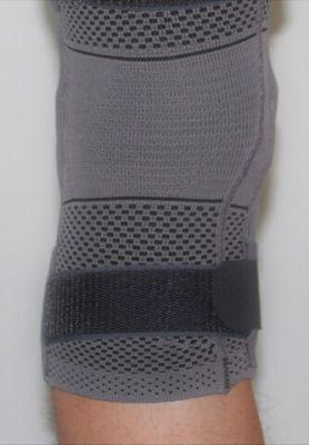 Rückseite Kniebandage