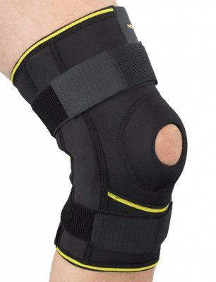 Novamed Leichte Kniebandage mit Gelenkschienen