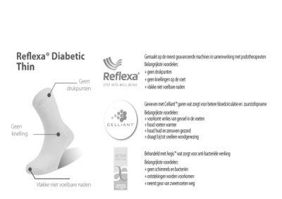 Reflexa Diabetic Diabetiker Socken